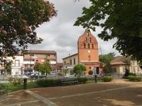 La paroisse de Tournefeuille, proche de la mairie de la ville