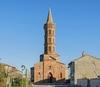 L'église Saint-Orens à Brax a été inaugurée en 1865 et est de style néo-gothique.