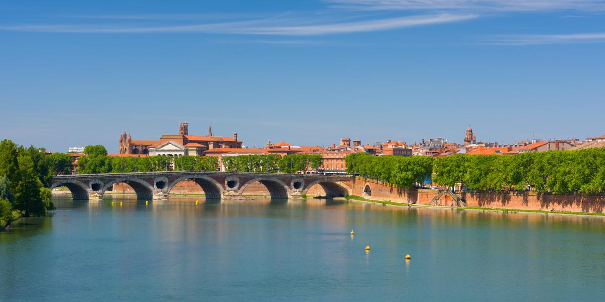 cite internationale chercheurs toulouse - Vue sur les quais de Toulouse, à la Daurade