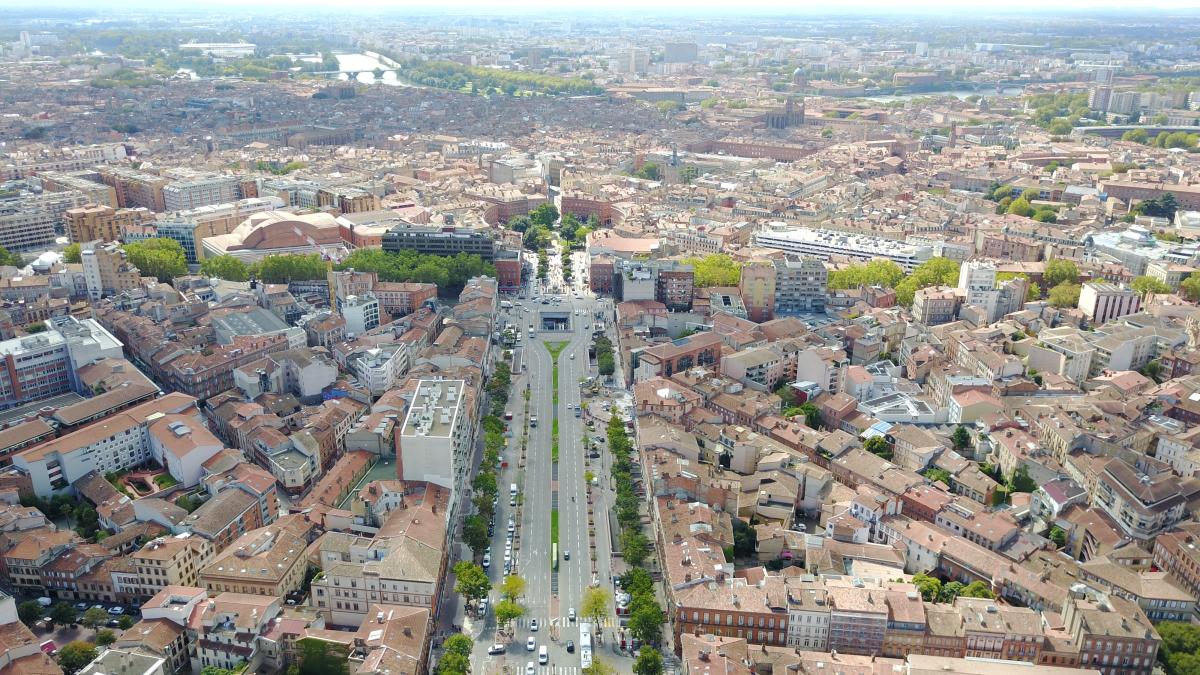 tour occitanie - les allées jean jaurès