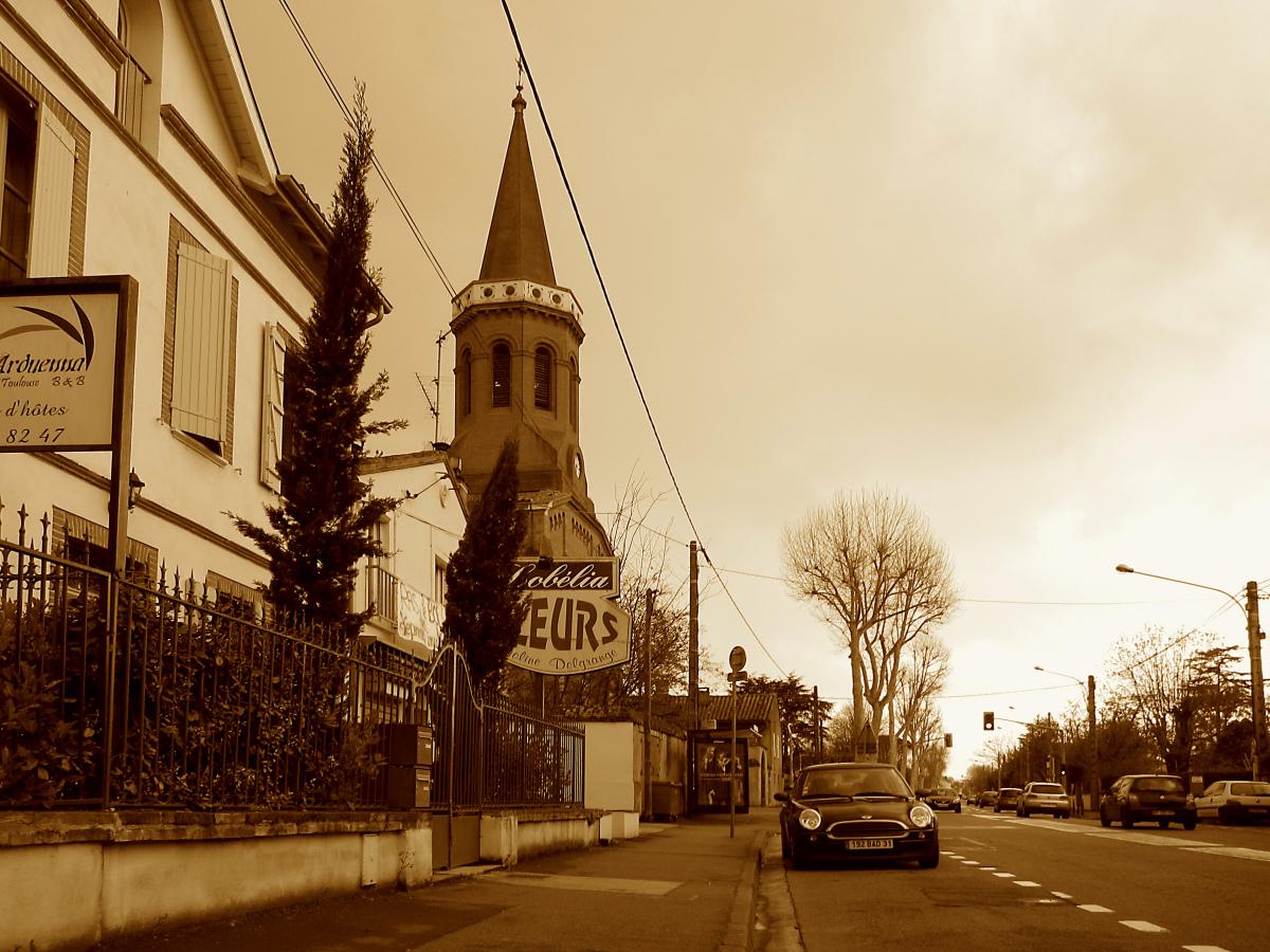 Quel quartier habiter à Toulouse – Vue de l'Avenue de Lardenne à Toulouse