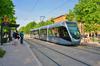 Projets de transports à Toulouse – Vue du tramway à Toulouse